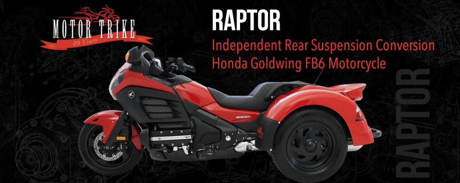 Honda Goldwing F6B Raptor Motor Trike Conversion (DOES NOT